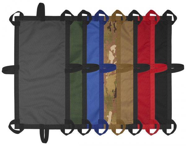 Rainbow of tarps